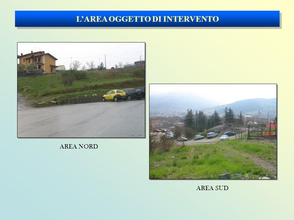 L'AREA OGGETTO DI INTERVENTO AREA SUD AREA NORD