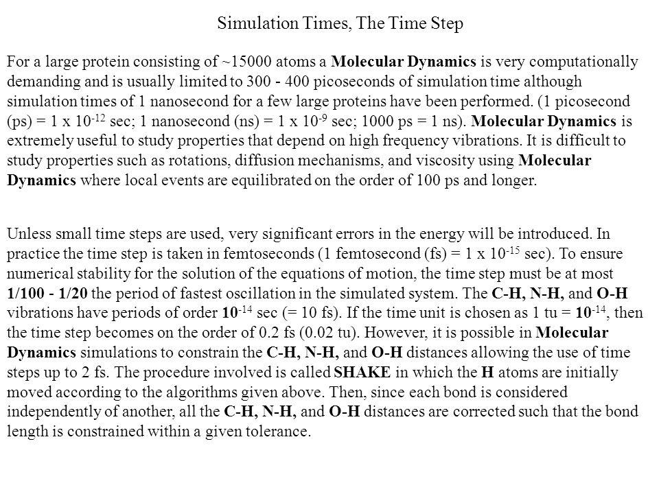 Siano date 2 configurazioni diverse r e s del sistema in studio e sia La probabilità P rs che venga generata una catena di trasformazioni che porta il sistema dalla configurazione r alla s, è a priori = alla probabilità P sr che venga generata una catena di trasformazioni che porta il sistema dalla configurazione s alla r: Distribuzione delle configurazioni numero di configurazioni r ottenute numero di configurazioni s ottenute Numero di passaggi In una simulazione infinita, il numero di configurazioni varia fino a raggiungere l'equilibrio tra i passaggi nelle 2 direzioni: