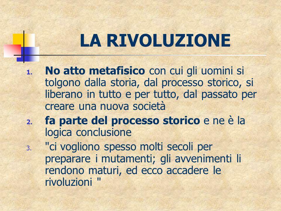 LA RIVOLUZIONE 1.