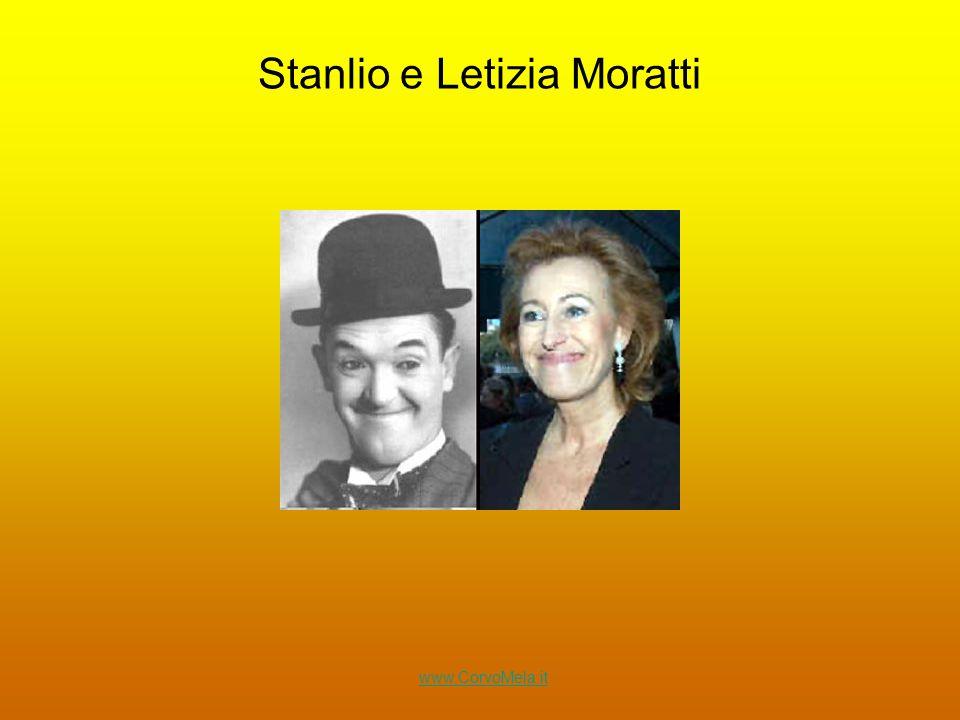 Stanlio e Letizia Moratti www.CorvoMela.it