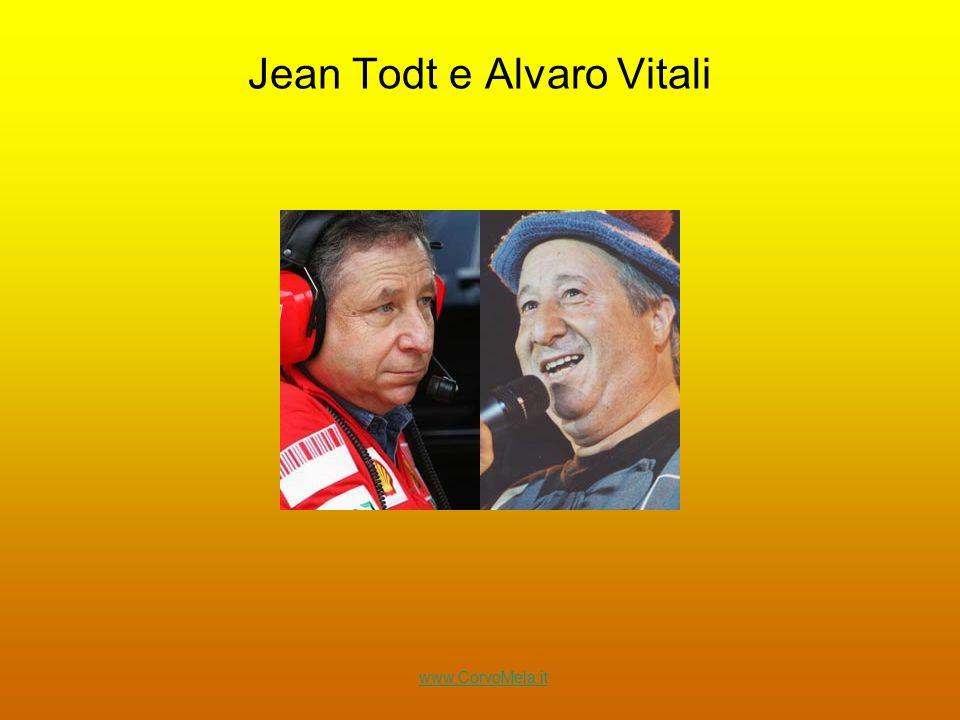Jean Todt e Alvaro Vitali www.CorvoMela.it