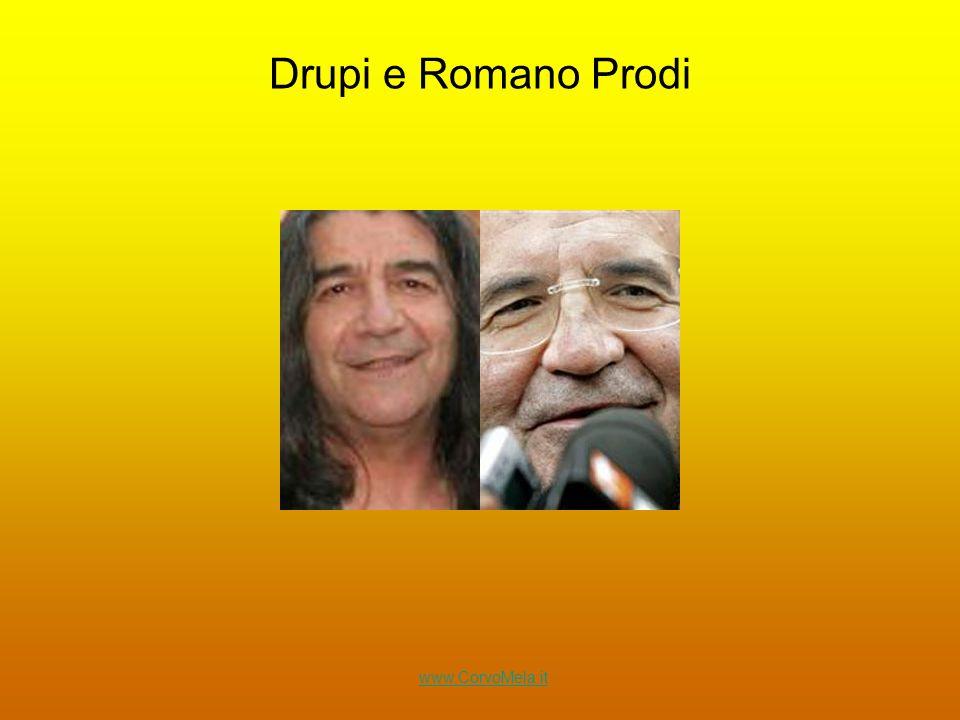 Drupi e Romano Prodi www.CorvoMela.it