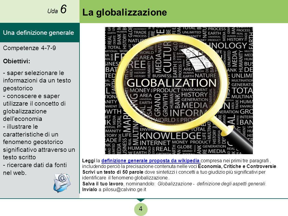 Gli enti della politica economica mondiale Leggi la scheda, proposta da Alessandra Callegaro e Luca Cristaldi, sulle origini del processo di globalizzazione.origini del processo di globalizzazione.