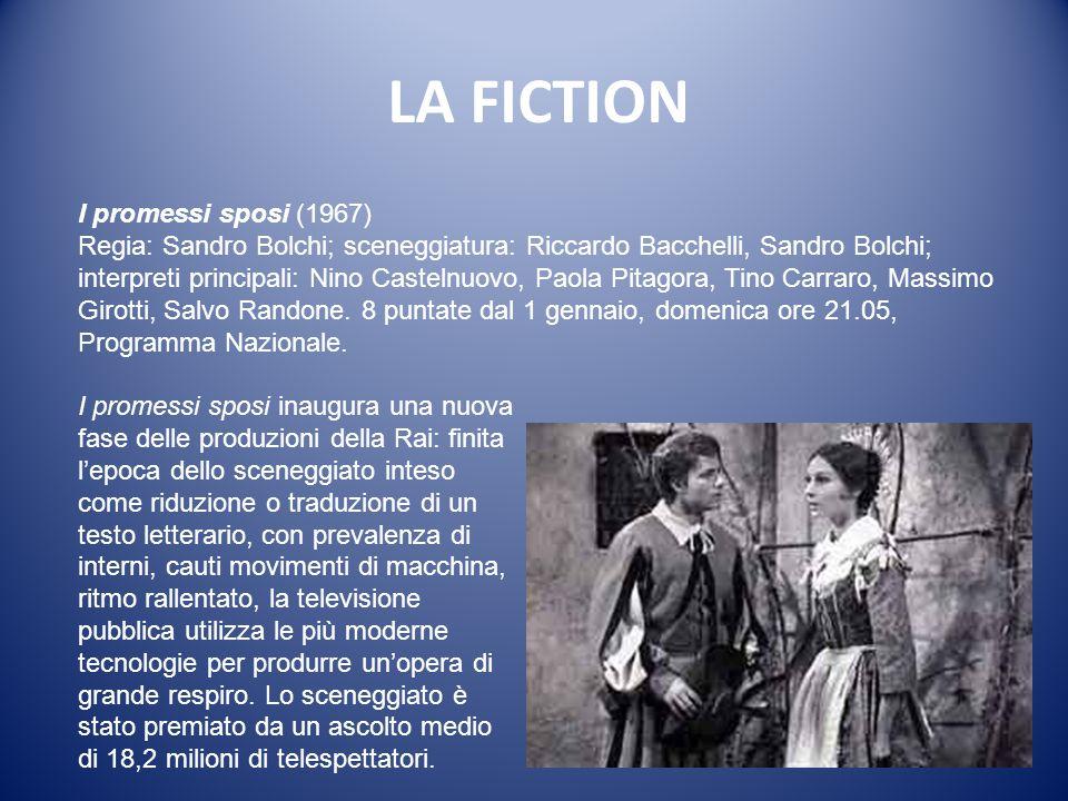 LA FICTION La cittadella (1964) Regia e sceneggiatura: Anton Giulio Majano. Interpreti principali: Alberto Lupo, Anna Maria Guarnieri, Nando Gazzolo.