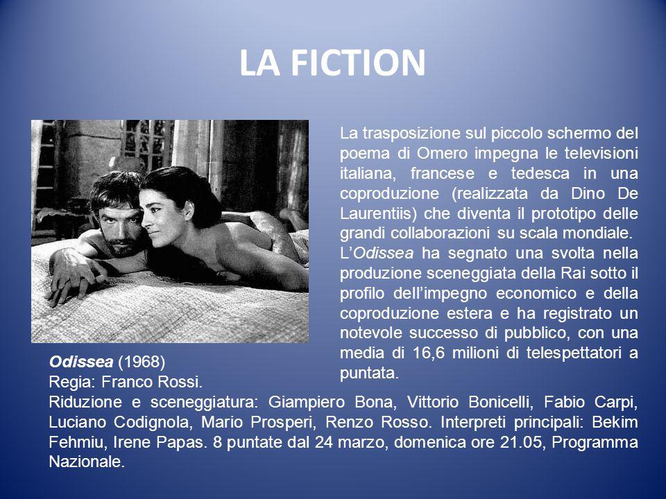 LA FICTION I promessi sposi (1967) Regia: Sandro Bolchi; sceneggiatura: Riccardo Bacchelli, Sandro Bolchi; interpreti principali: Nino Castelnuovo, Pa