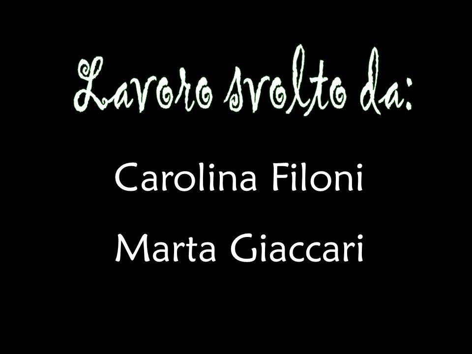 Carolina Filoni Marta Giaccari