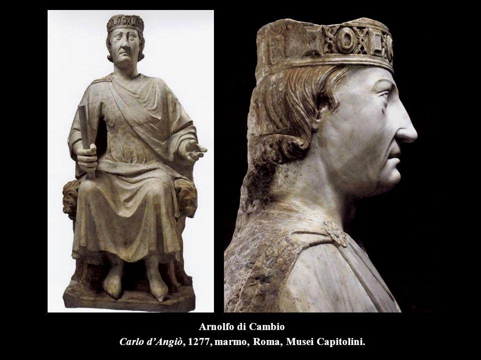 Arnolfo di Cambio Carlo d'Angiò, 1277, marmo, Roma, Musei Capitolini.