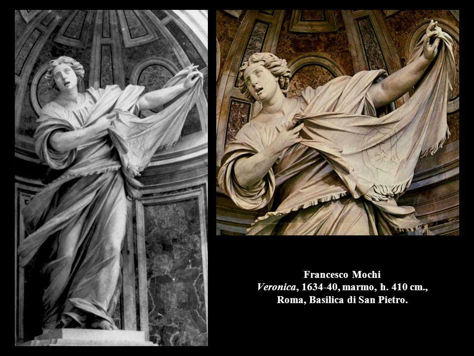 Francesco Mochi Veronica, 1634-40, marmo, h. 410 cm., Roma, Basilica di San Pietro.