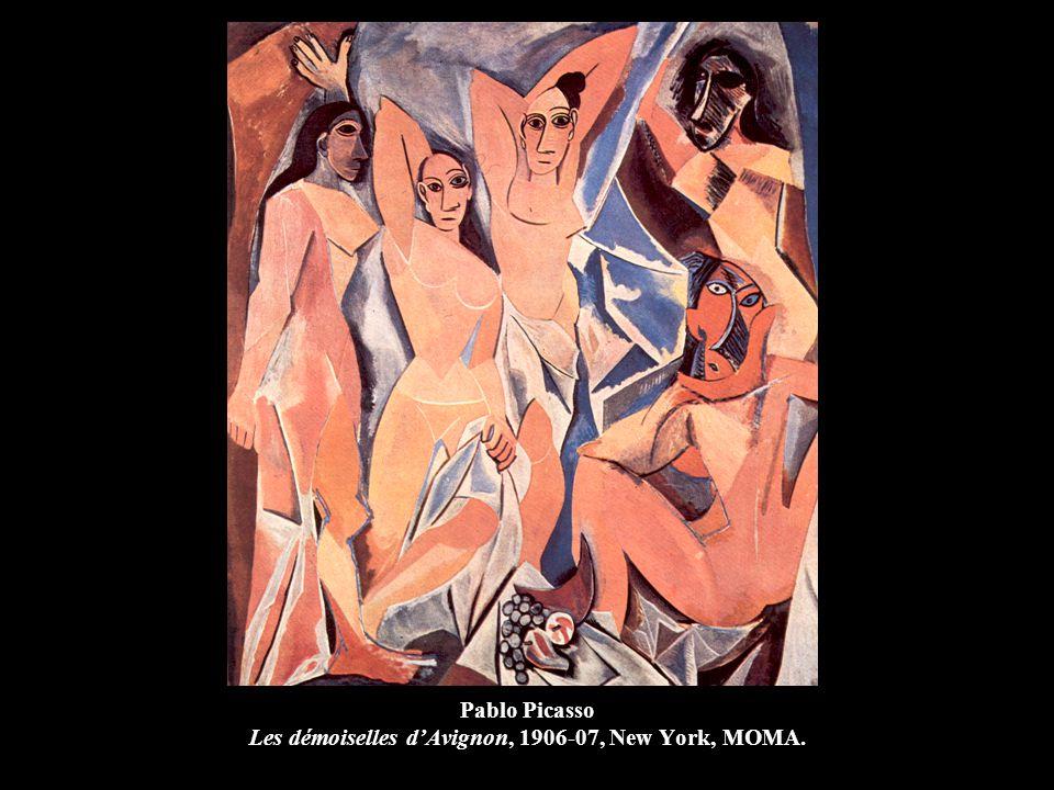 Pablo Picasso Les démoiselles d'Avignon, 1906-07, New York, MOMA.
