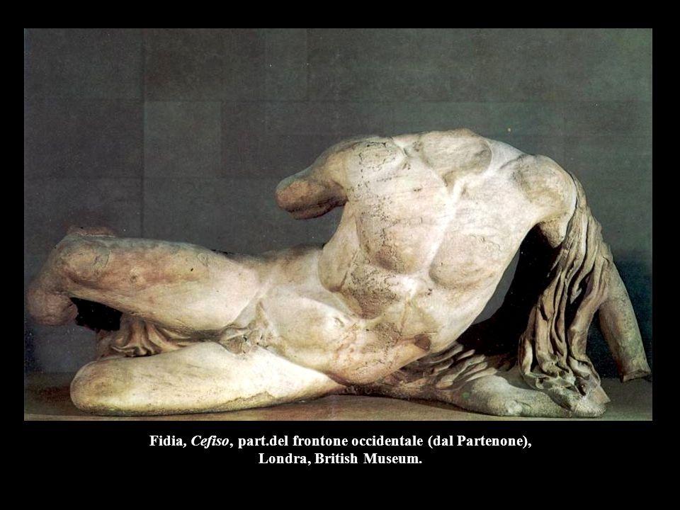 Policleto, Diadumeno, 430 a.C., h. 186 cm, Atene, Museo Nazionale.