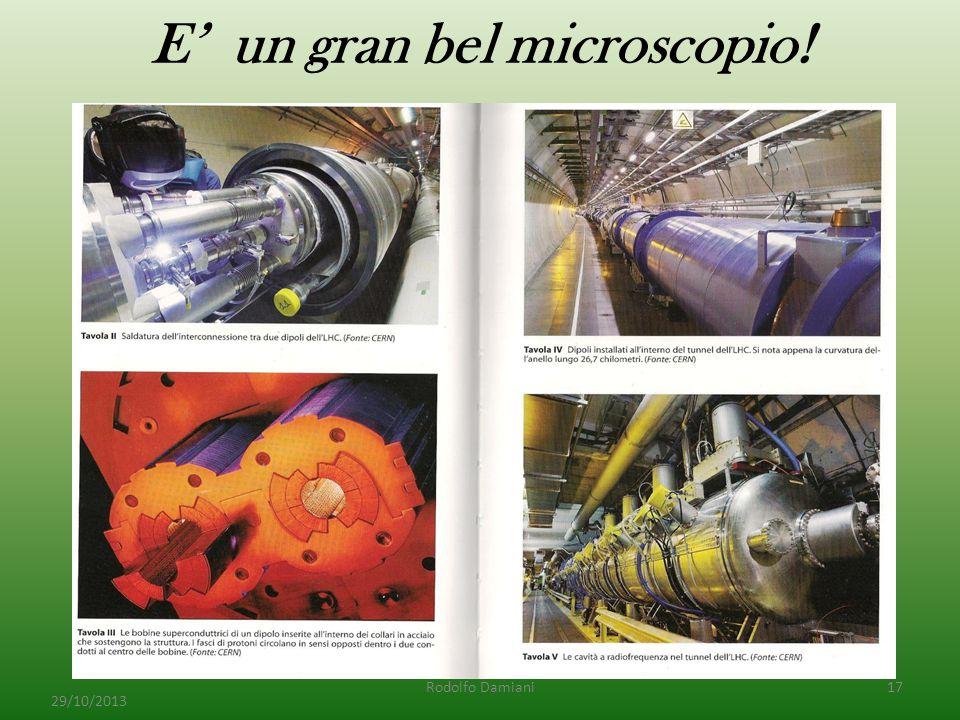 E' un gran bel microscopio! 29/10/2013 Rodolfo Damiani17