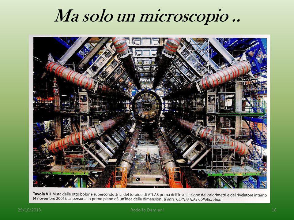 Ma solo un microscopio.. 29/10/2013Rodolfo Damiani18