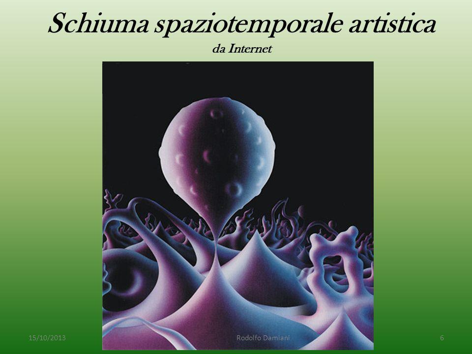 Schiuma spaziotemporale artistica da Internet 15/10/2013 Rodolfo Damiani6