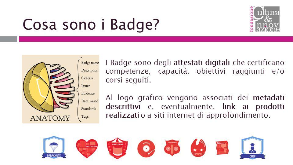 Cosa sono i Badge.