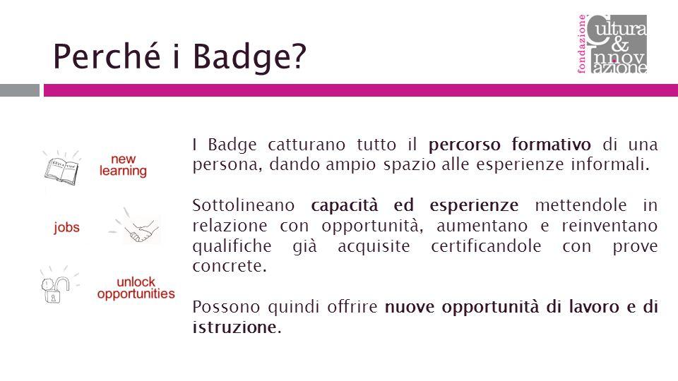 Perché i Badge.