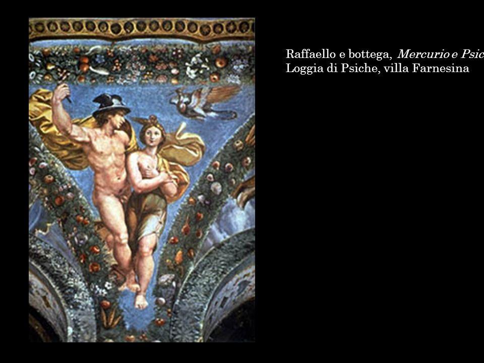 Raffaello e bottega, Mercurio e Psiche, Loggia di Psiche, villa Farnesina