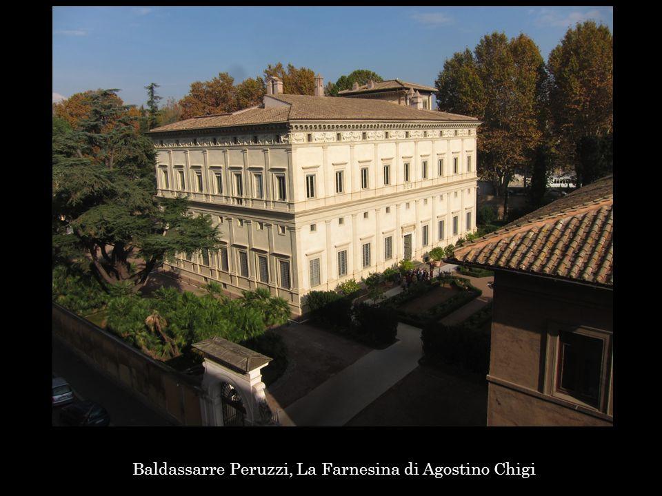 Baldassarre Peruzzi, La Farnesina di Agostino Chigi