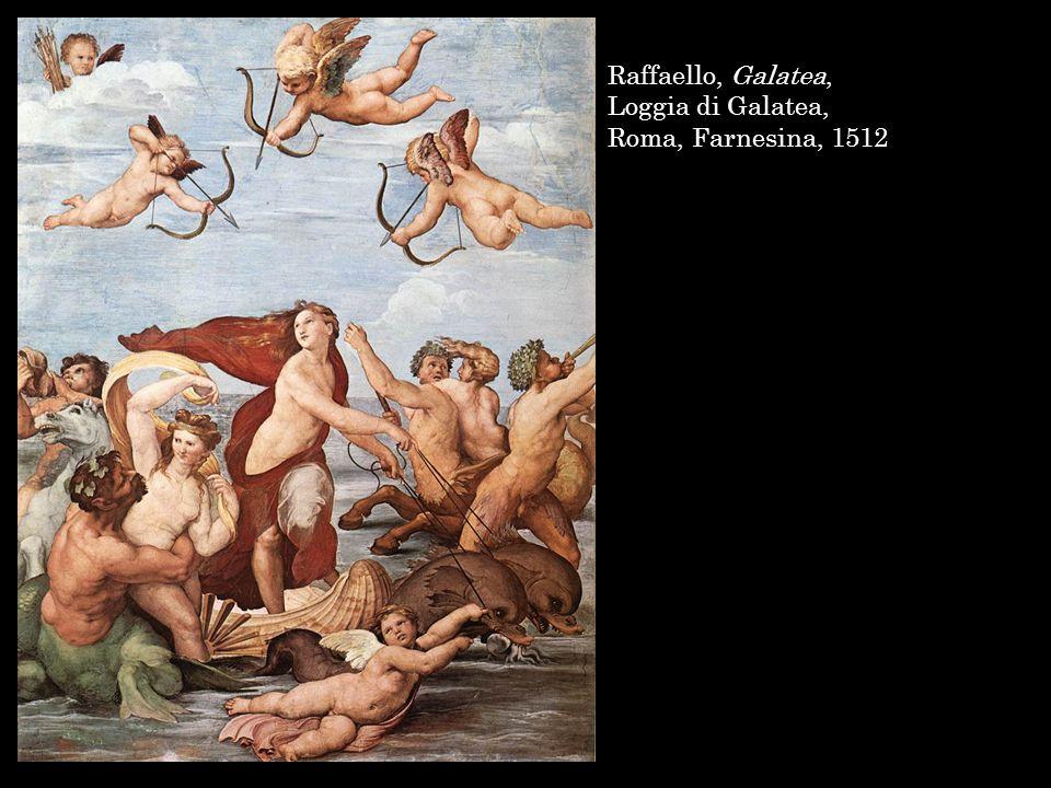 Raffaello, Galatea, Roma, Farnesina, 1512