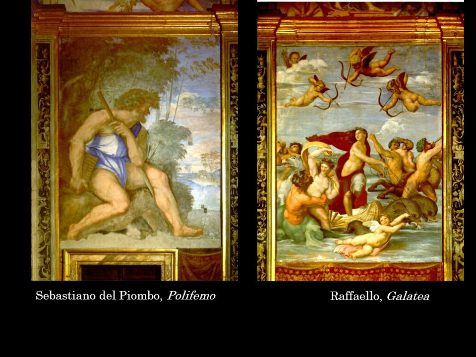 Raffaello, Loggia di Psiche, Roma, villa Farnesina, 1517-18