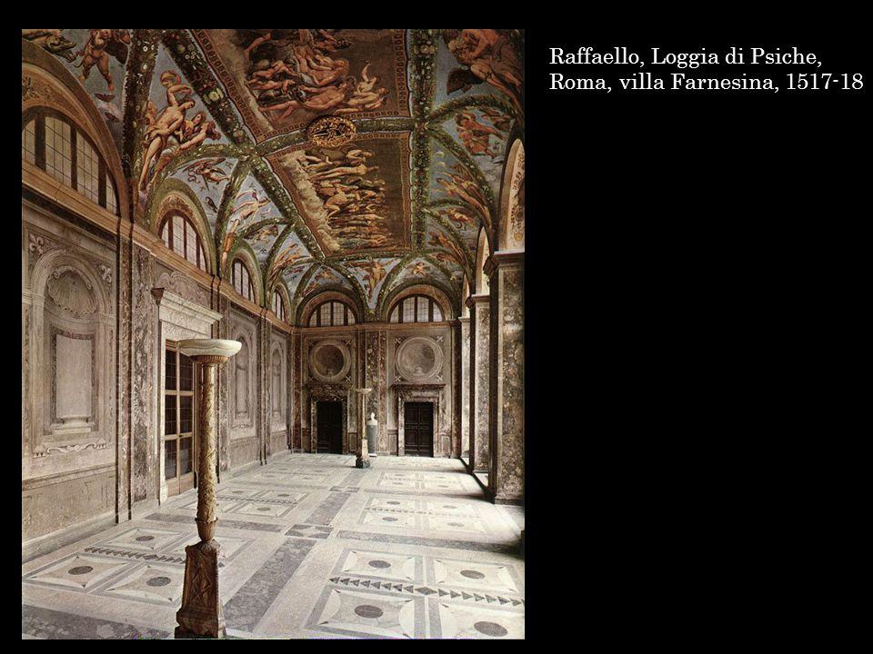 Raffaello e bottegs, Loggia di Psiche, villa Farnesina