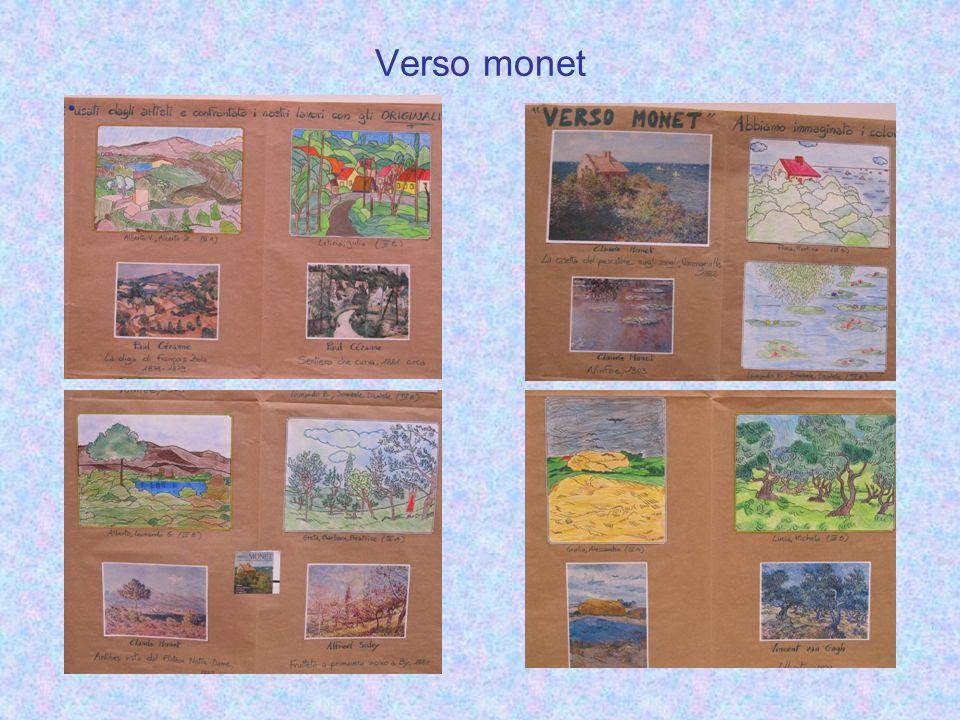 IL PAESAGGIO INTERIORE TRA PITTURA, MUSICA E POESIA Partendo dalla visione di opere degli Impressionisti,raffiguranti paesaggi nelle diverse stagioni, abbiamo ricreato in modo personale altri paesaggi.
