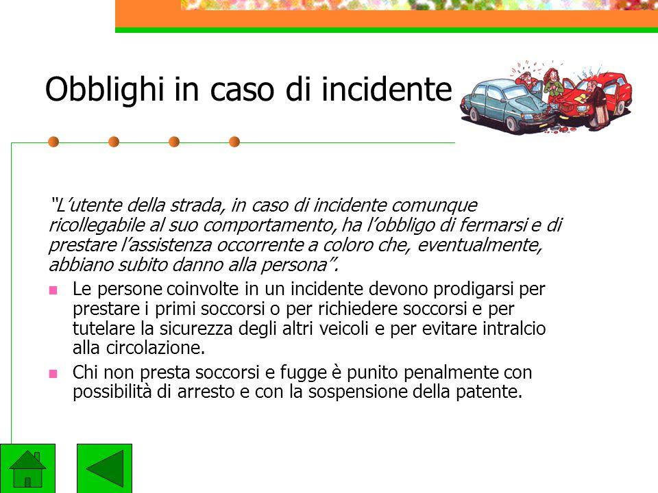 Uso del casco protettivo L'uso del casco protettivo è obbligatorio: per i minorenni alla guida di ciclomotori a due ruote e motocicli per i conducenti
