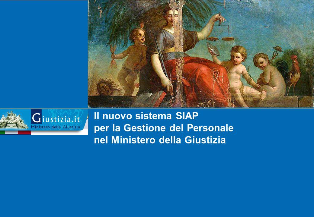 Il nuovo sistema SIAP per la Gestione del Personale nel Ministero della Giustizia