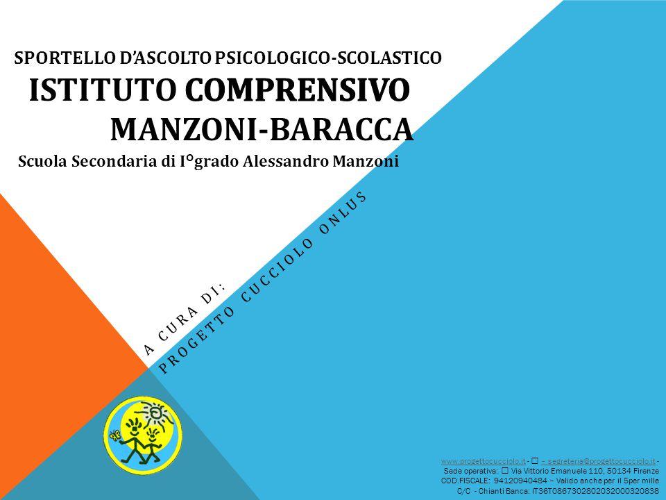 A CURA DI: PROGETTO CUCCIOLO ONLUS www.progettocucciolo.itwww.progettocucciolo.it -  – segreteria@progettocucciolo.it -– segreteria@progettocucciolo.