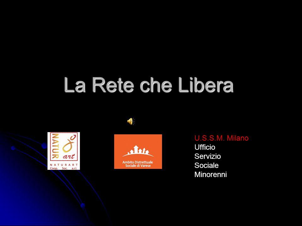 La Rete che Libera U.S.S.M. Milano Ufficio Servizio Sociale Minorenni