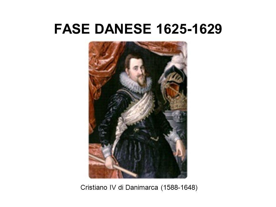 FASE DANESE 1625-1629 Cristiano IV di Danimarca (1588-1648)