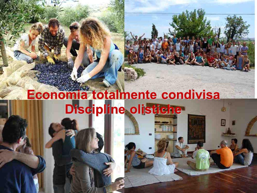 Economia totalmente condivisa Discipline olistiche