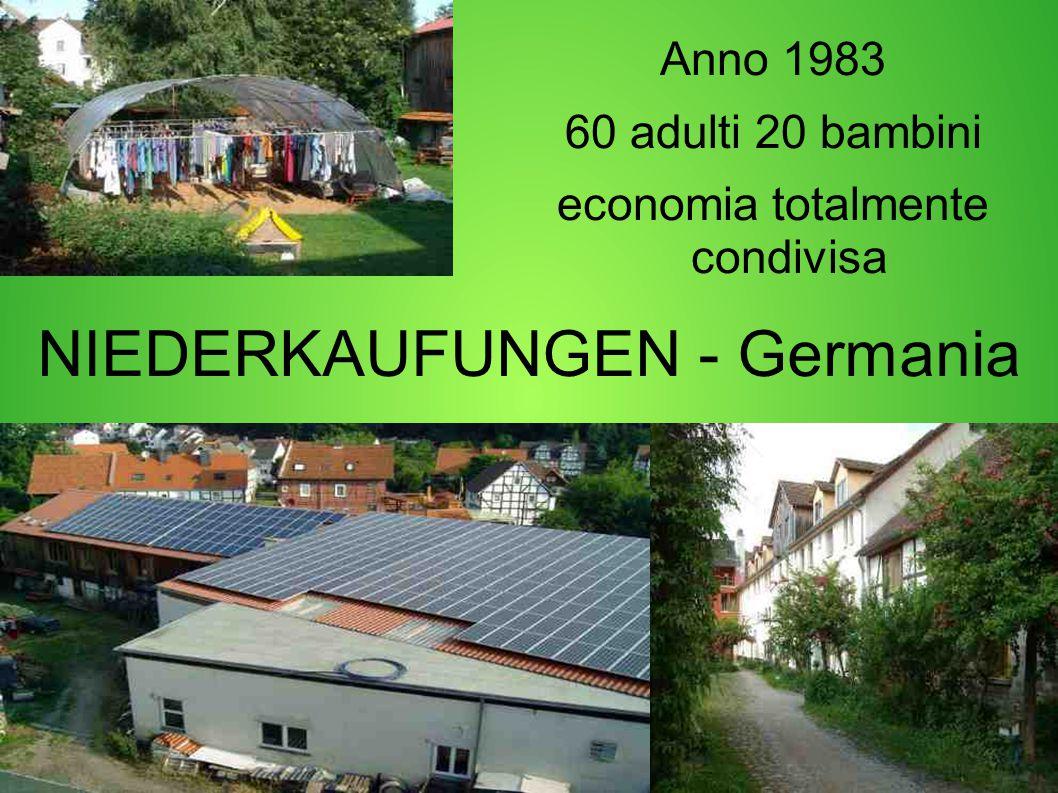 NIEDERKAUFUNGEN - Germania Anno 1983 60 adulti 20 bambini economia totalmente condivisa
