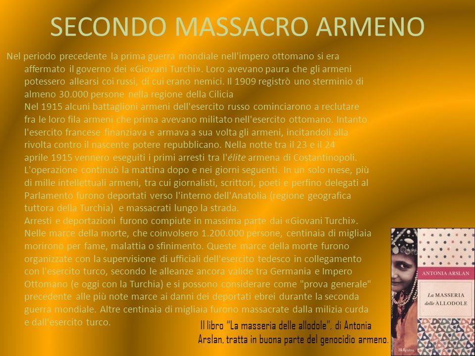 NUMERO DEI MORTI primo genocidio L esatto numero di morti è controverso.