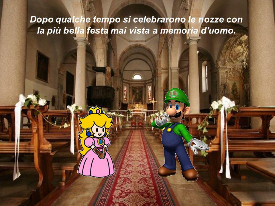 Dopo qualche tempo si celebrarono le nozze con la più bella festa mai vista a memoria d'uomo.