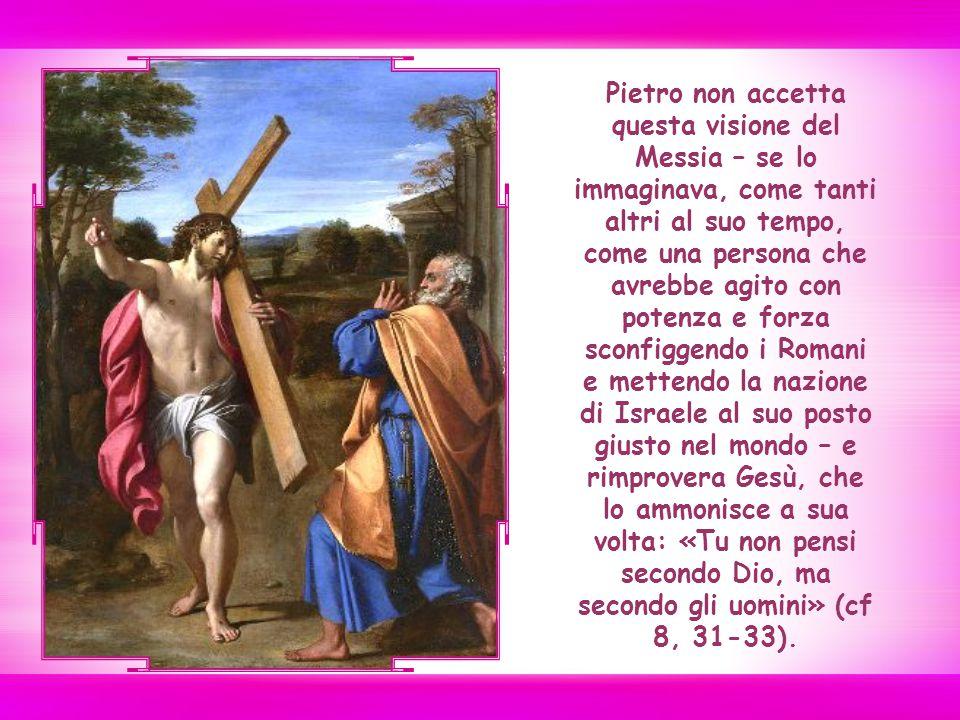A scanso di equivoci Gesù spiega chiaramente come intende attuare la propria missione.