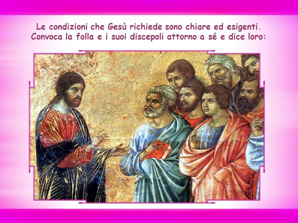 Gesù si rimette in cammino, questa volta verso Gerusalemme, dove si compirà il suo destino di morte e risurrezione.
