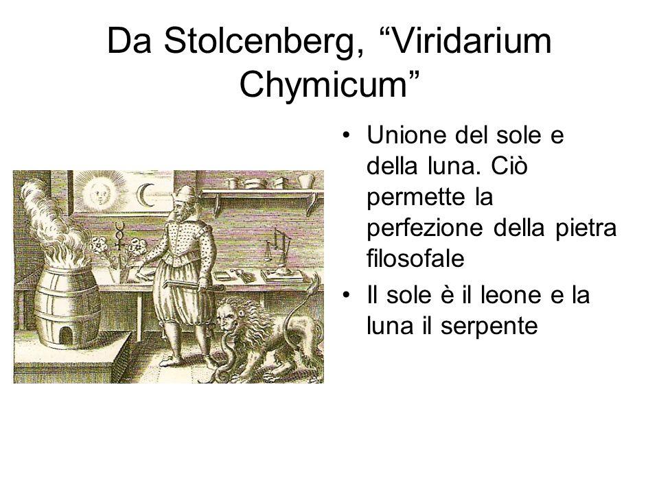 Da Stolcenberg, Viridarium Chymicum Unione del sole e della luna.