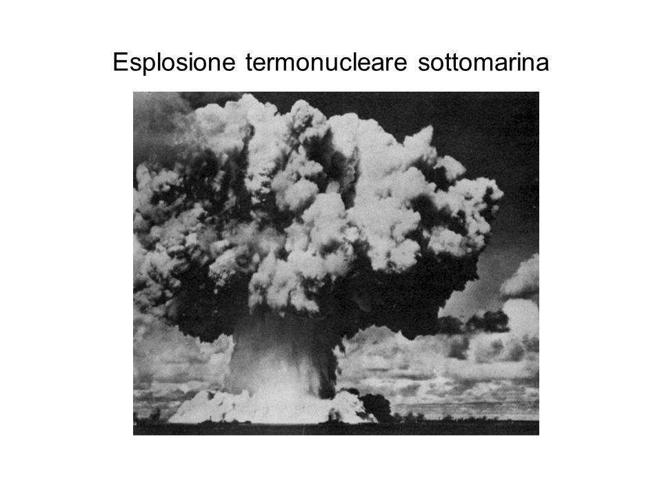 Esplosione termonucleare sottomarina