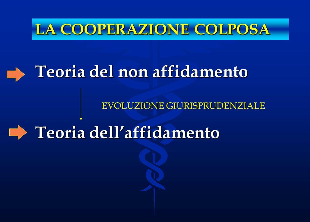La cooperazione colposa Cass., sez.IV, 15 luglio 1991: Cass., sez.