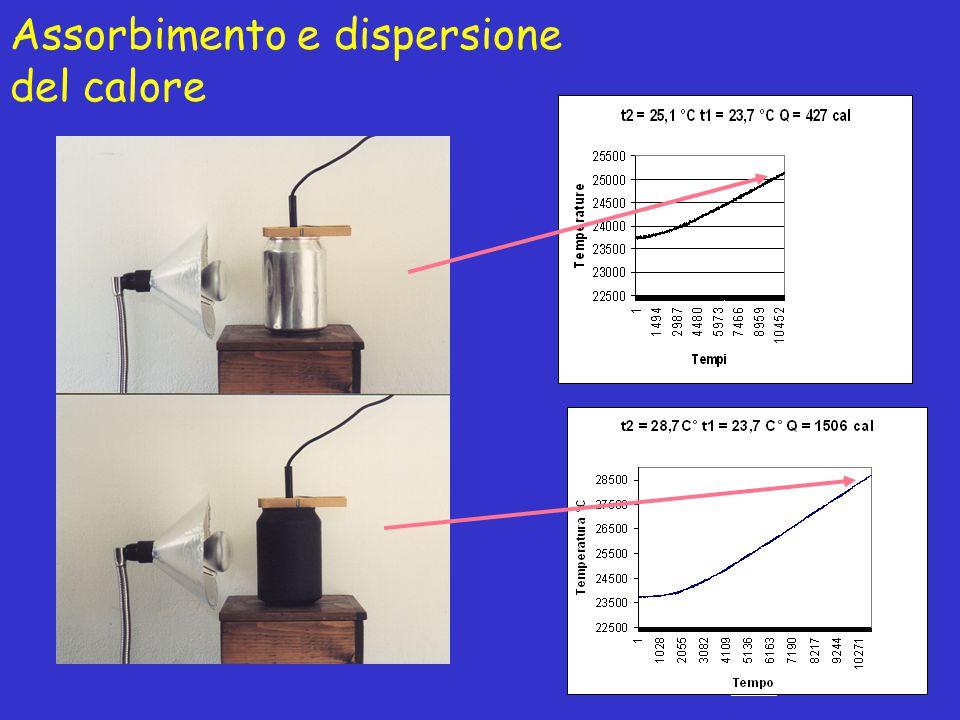 Assorbimento e dispersione del calore