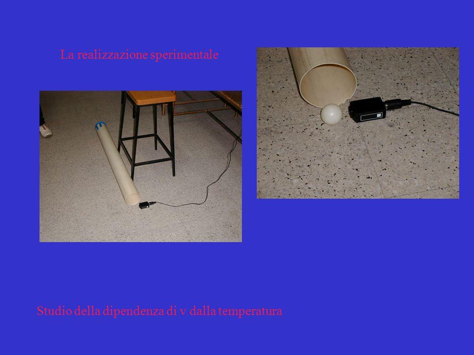 Il rimbalzo di una pallina da ping-pong sul pavimento e l'eco dopo circa 6 ms