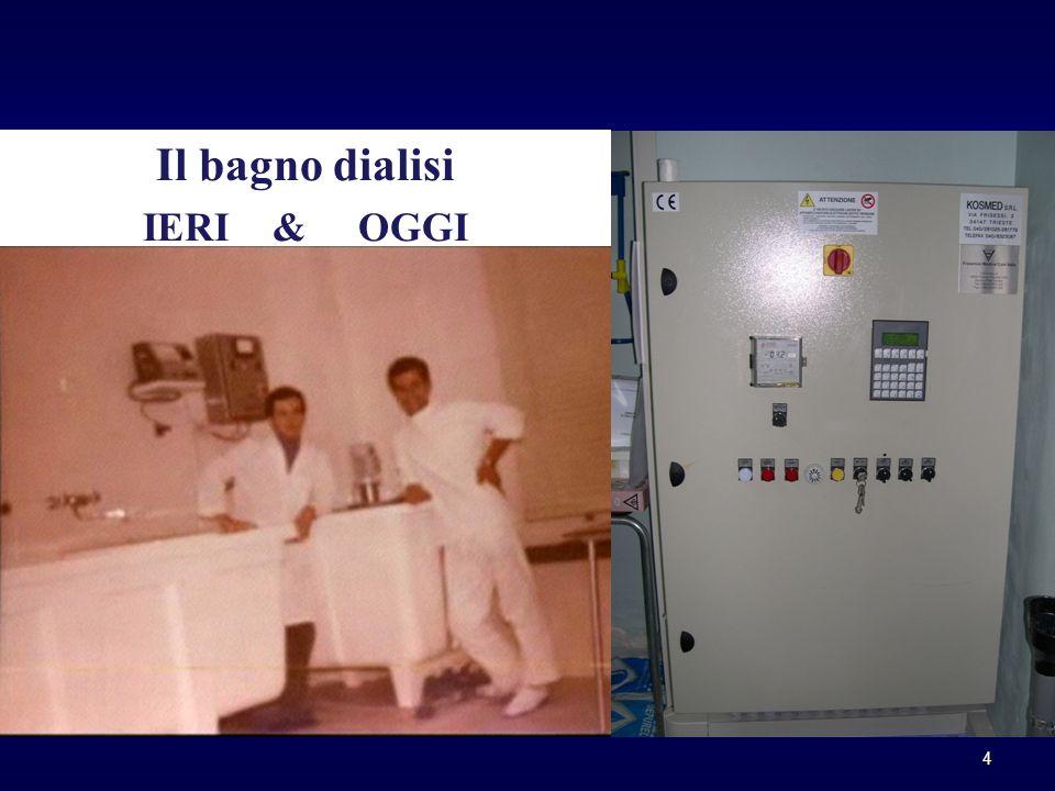 Il bagno dialisi IERI & OGGI 4