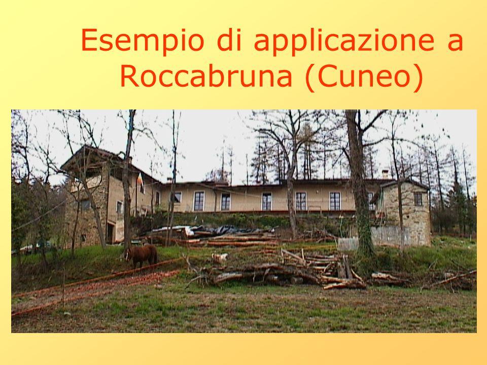 Esempio di applicazione a Roccabruna (Cuneo)