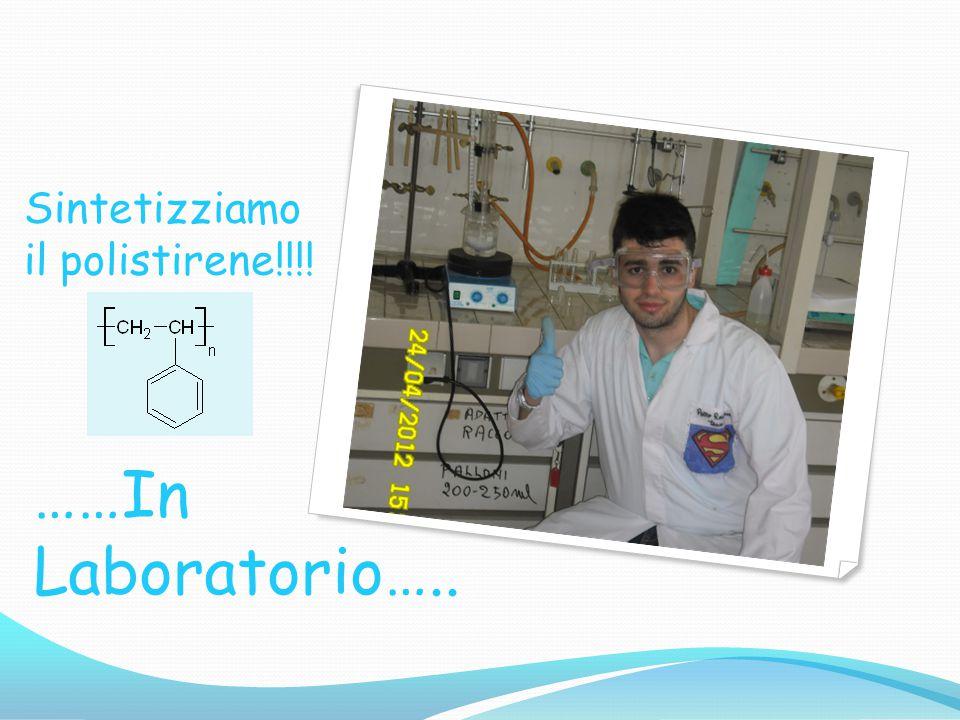 Sintetizziamo il polistirene!!!! ……In Laboratorio…..
