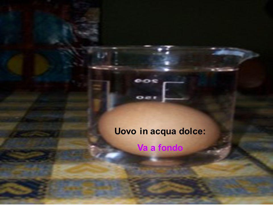 Uovo in acqua dolce: Va a fondo
