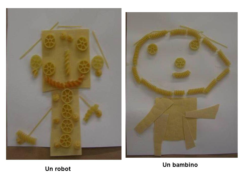 Un robot Un bambino