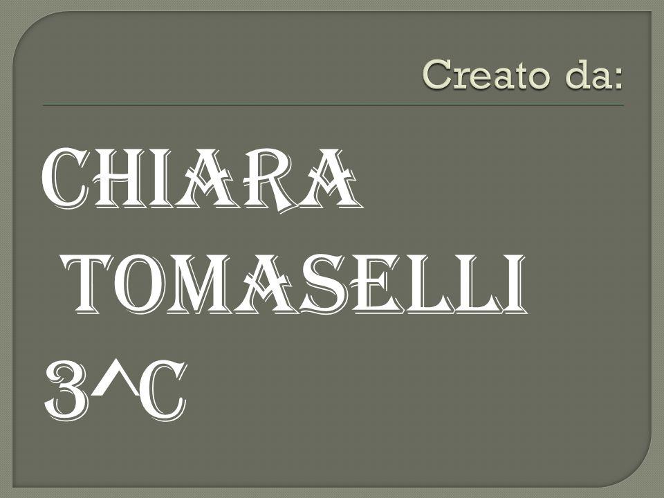 chiARA TOMASELLI 3^C