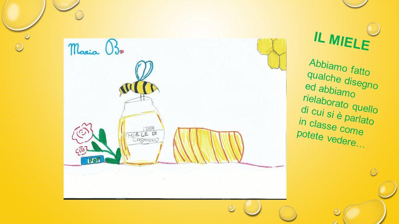 IL MIELE Sì, le api ed i fiori li conoscevamo già, ma quante cose fanno e quante specializzazioni hanno le api operaie!
