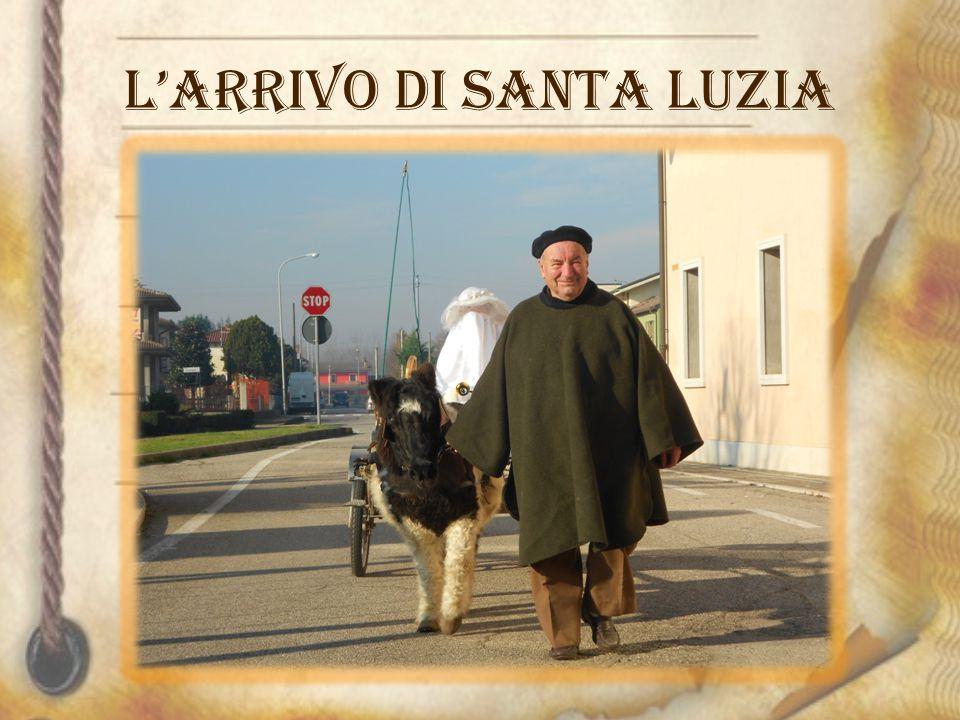 L'arrivo di Santa Luzia