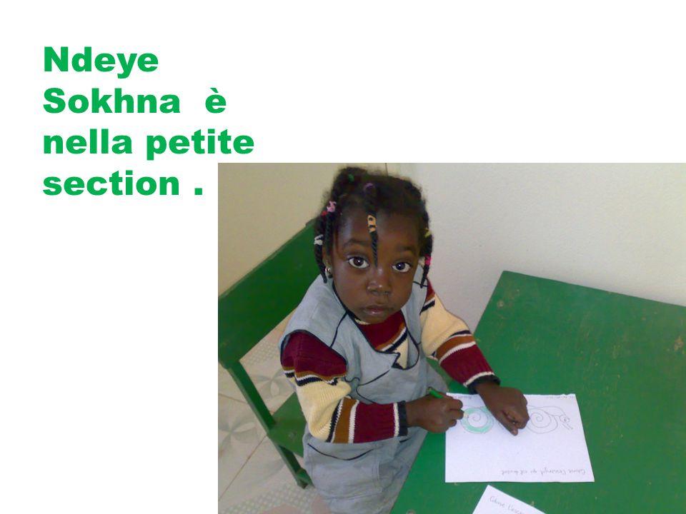 Ndeye Sokhna è nella petite section.